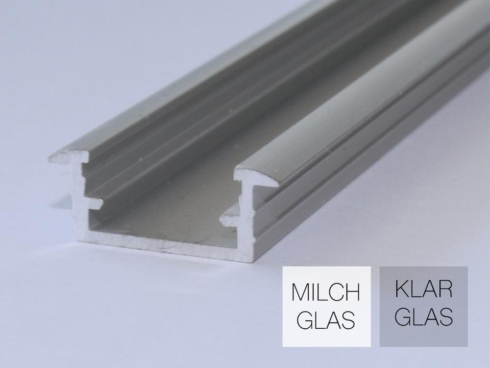 Aluminiumprofil AP-10-E für LED Bänder