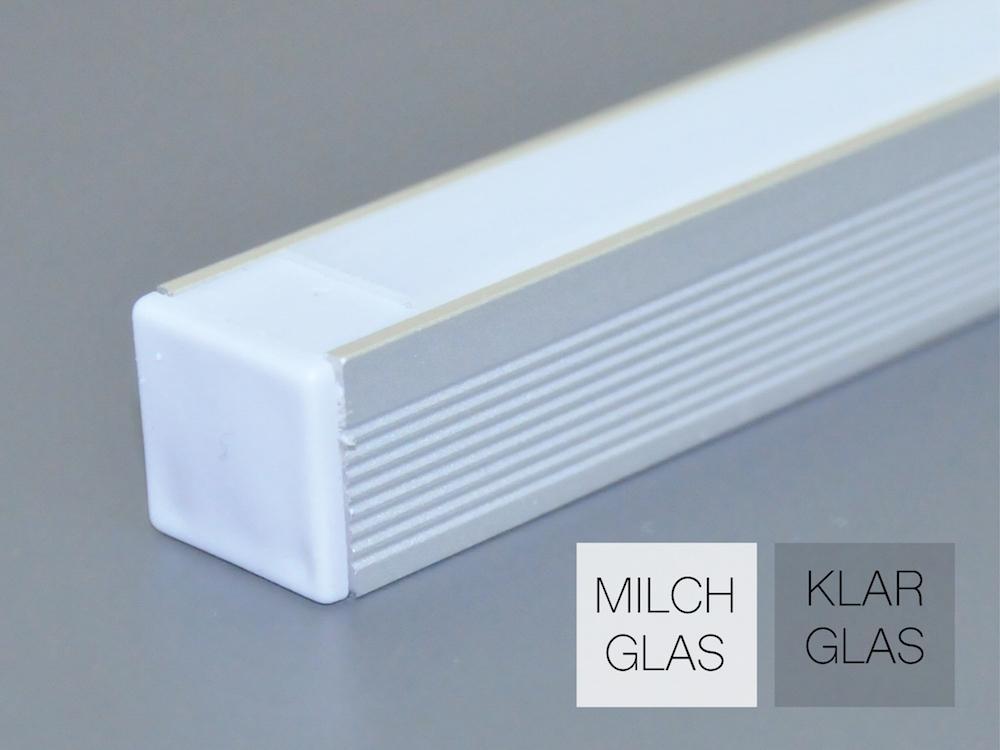 Aluminiumprofil AP-50 für LED Bänder
