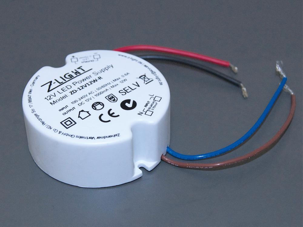 Led Trafo ZD-12V12W-R