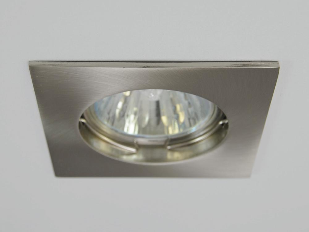 Einbaustrahler ZL-1501 Stahl gebürstet / ohne Leuchtmittel