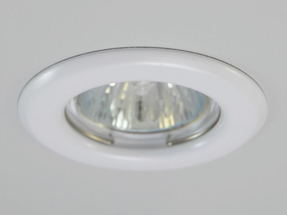 Einbaustrahler ZL-1650 Weiß / ohne Leuchtmittel